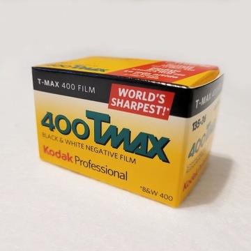T-MAX 400 FILM - 135/36 film-klisza