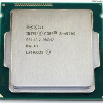 Procesor Intel i5-4570S, 2,90 GHz-3,60 GHz