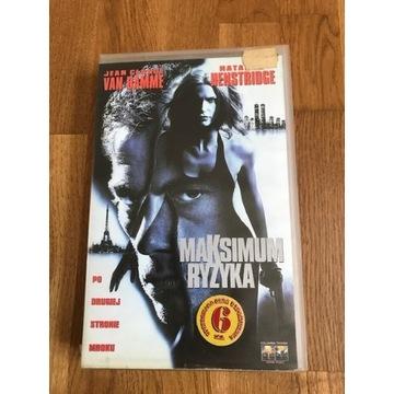 Maksimum Ryzyka / Maximum Risk VAN DAMME VHS