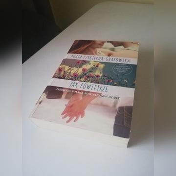 """Książka: """"Jak powietrze"""""""
