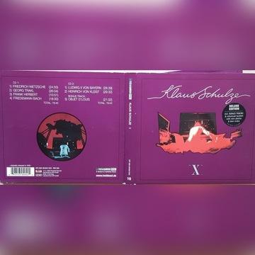 KLAUS SCHULZE X bonusy 2CD
