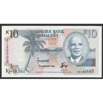 Malawi 10 kwacha 1994 - BF - stan bankowy UNC