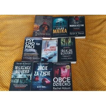 Książki - pakiet lub sztuki, do wyboru