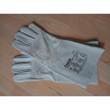 Rękawice spawalnicze skórzane roz. 10 (10par)