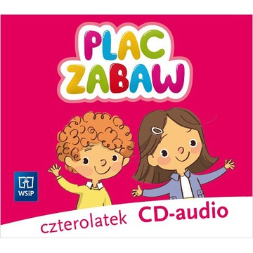 PLAC ZABAW KOMPLET CD AUDIO 4-LATEK WSiP