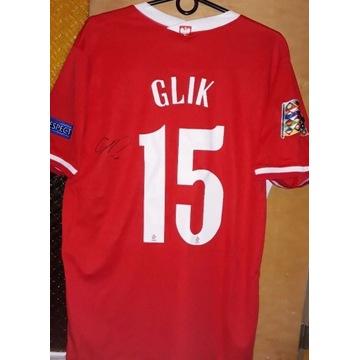 Koszulka z autografem Kamil Glik Polska 2021