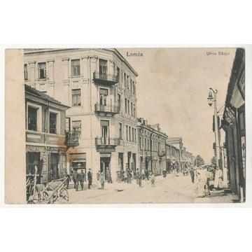 Łomża. Ulica Długa 1909 O180