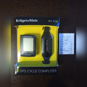 Licznik rowerowy Kruger &Mats XT300  OKAZJA!
