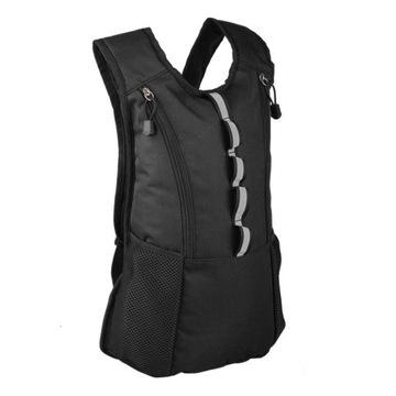 Plecak sportowy czarny z odblaskami
