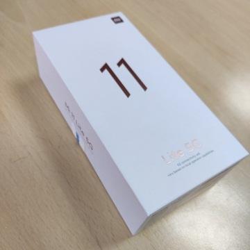 Smartfon XiaomiMI 11Lite 5G 6/128GB Black