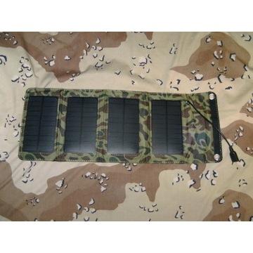 Ładowarka słoneczna solarna panel camo moro 1xUSB