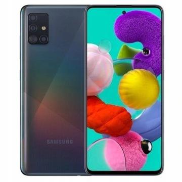 Samsung GALAXY a51 NOWY CZARNY