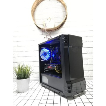 MOCNY KOMPUTER DO GIER INTEL I5/8GB/500GB/RX 470