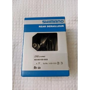 Nowa przerzutka tylna Shimano Deore RD-M5100 1x11