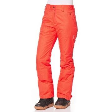 CMP Spodnie narciarskie w kolorze pomarańczowym 36