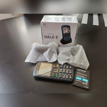 MyPhone Halo 2 - stan idealny, komplet!