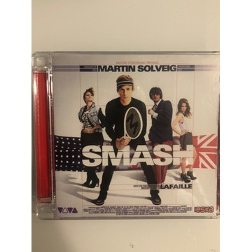 Płyta cd Martin Solveig Smash 2011