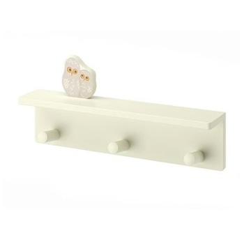 Wieszak ścienny IKEA KLADE (sowa, sówka)