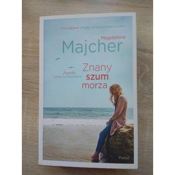 """Książka """"Znany szum morza"""" M. Majcher"""