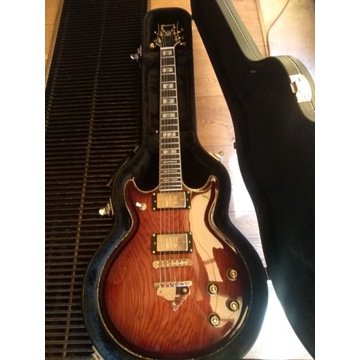 Ibanez AR 720-BSQ nowa gitara z casem w zestawie