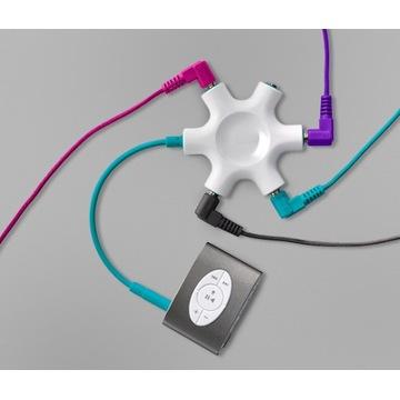 Adapter wielofunkcyjny do słuchawek Tchibo