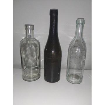 3 Stare butelki