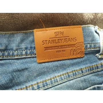 Spodnie jeansowe założone dwa razy bardzo polecam