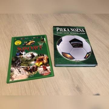 Zestaw książek sport