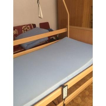Łóżko rehabilitacyjne, elektrycznie sterowane
