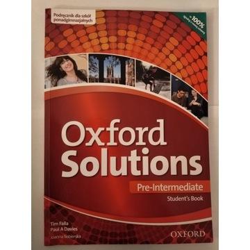 Oxford Solution Pre-Intermediate Student's Book