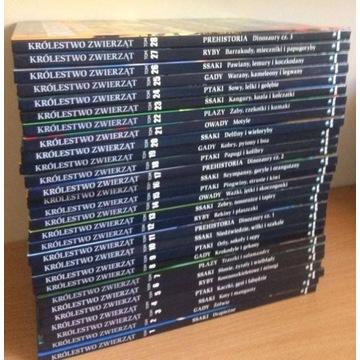 Encyklopedia Królestwo Zwierząt tomy 1-28, tanio