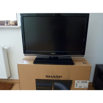 SHARP LC-32X20E AQUOS Full HD 32 + dekoder gratis