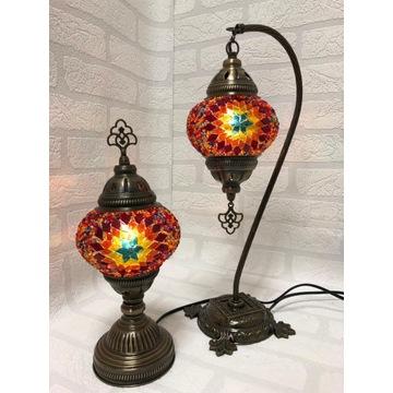 Turecka mozaik lampy ( komplet)