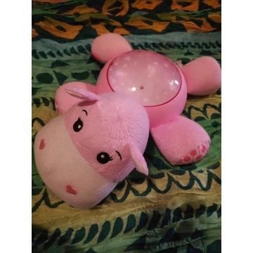 hipopotam fisher price lampka nocna projektor