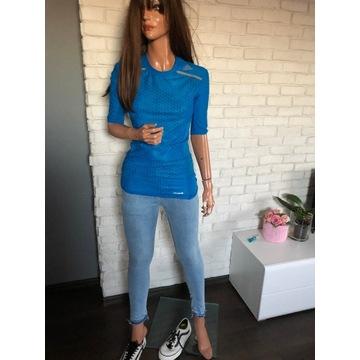 Adidas idealna na rower fitness koszulka w rozmiar