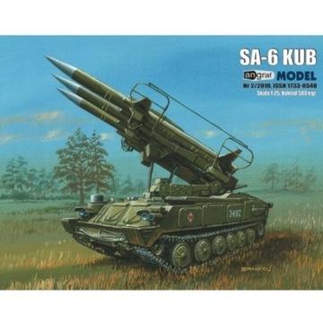 Wyrzutnia SA-6 KUB, 1:25, Angraf