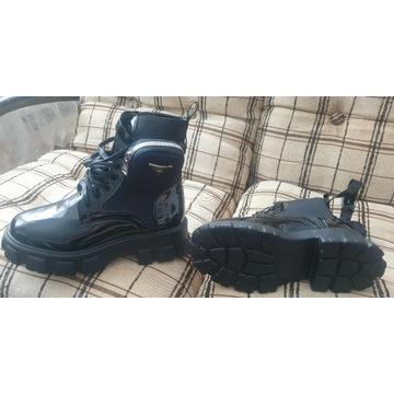 Najnowsze buty zimowe ala Prada. Nowe, 39Rozmiar