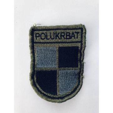 naszywka wojskowa POLUKRBAT