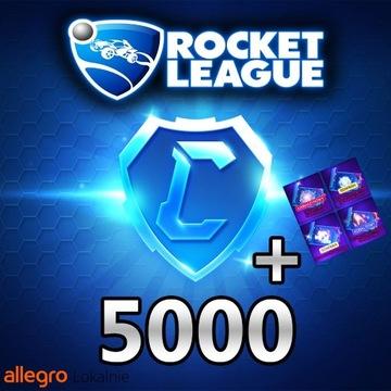ROCKET LEAGUE 5000 KREDYTY/CREDITS 5K [PC]