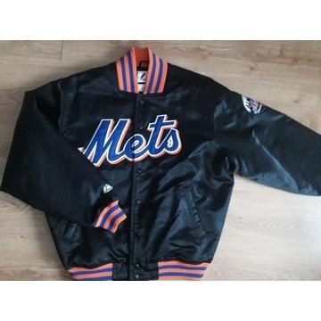 Kurtka baseballowa Majestic NY Mets r. M/L