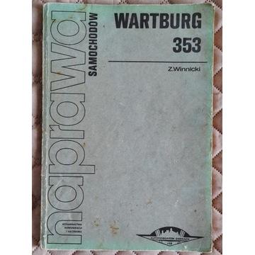 Książka - Naprawa samochodów Wartburg 353
