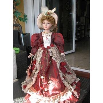 porcelanowa lalka sygnowana 60cm
