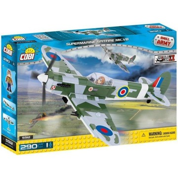 Brytyjski myśliwiec. Supermarine Spitfire MK.VB