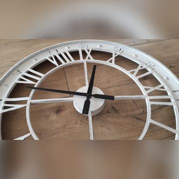 duży zegar, loft, rustykalny