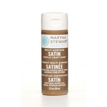 Farba Satin/ Martha Stewart - Chestnut Brown