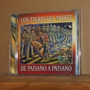cd243. LOS TIGRES DEL NORTE DE PAISANO A PAISANO