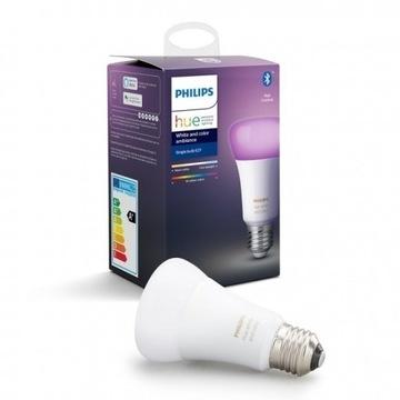Żarówka Philips Hue grzybek E27 9W RGBW BT
