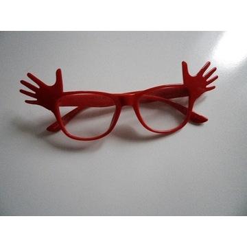 śliczne okulary ochronne szkła ''0''