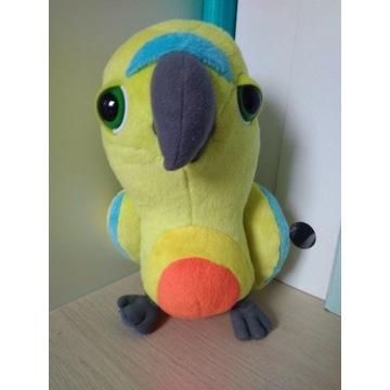 Maskotka papuga zwierzątko pluszak ptaszek