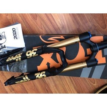 Widelec enduro Fox Factory 36 161mm, 27,5 100x15